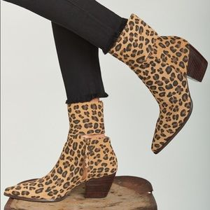 Matisse Good Company Boot Leopard Suede Boots